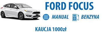 Ford Focus wypożycz