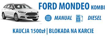 wypożycz ford mondeo