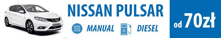 wypożycz nissan pulsar