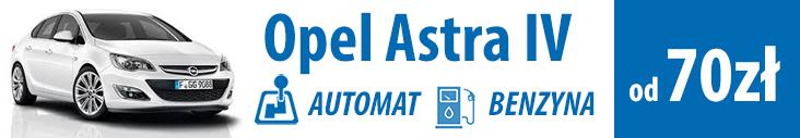 wypożycz opel Astra
